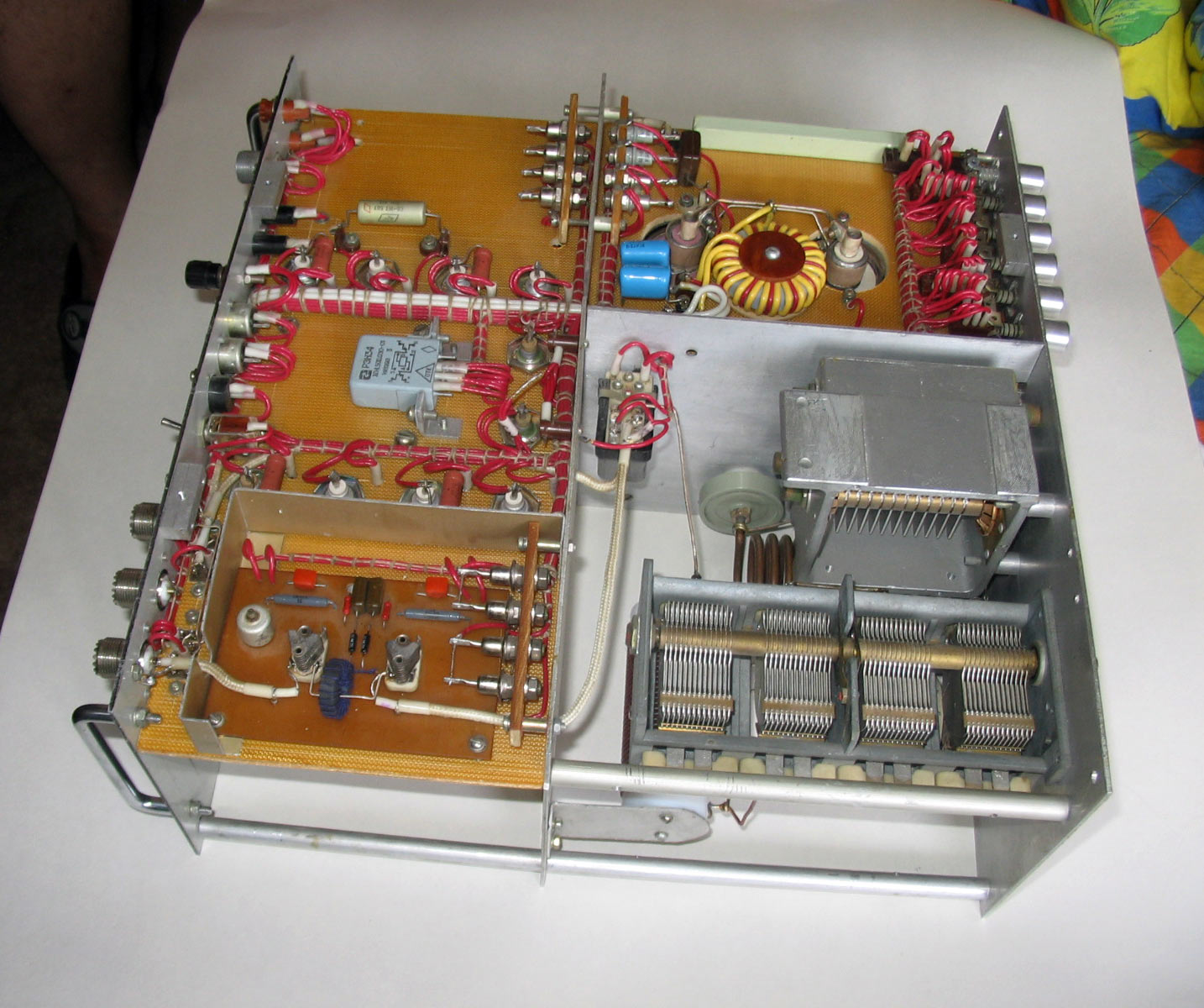 Купить ламповый и транзисторный КВ и УКВ усилитель ...