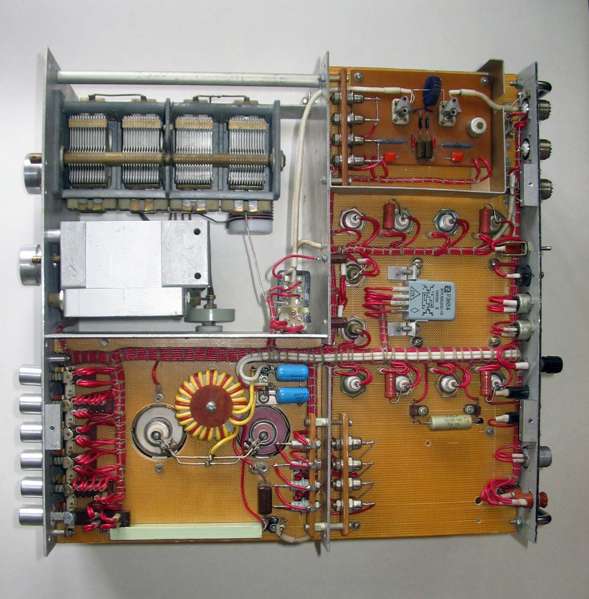 Усилитель мощности на лампе ГМИ-11 - Усилители мощности ВЧ ...